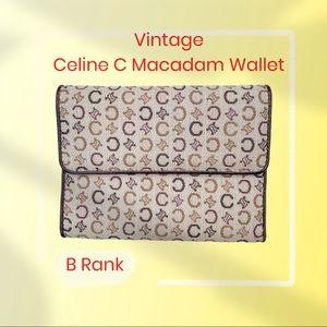 Celine C Macadam Wallet